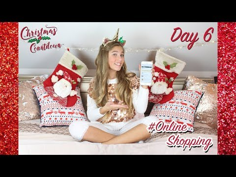 CHRISTMAS COUNTDOWN - *DAY 6* - (come online Christmas shopping with me!) | Rosie McClelland