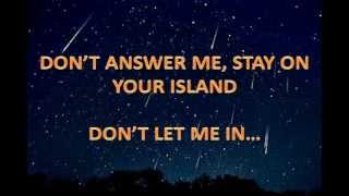 Don't Answer Me - Alan Parsons Project (With Lyrics)