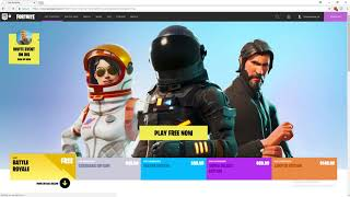 DO NOT FALL FOR FORTNITE-VBUCKS.NET SCAM!
