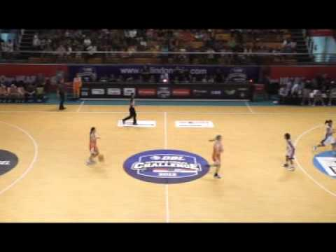 DBL allstar vs Goldcoast Junior ISC 2012 part 1