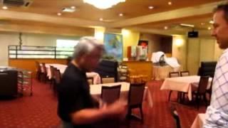 Speed punching from Grandmaster Nakashima