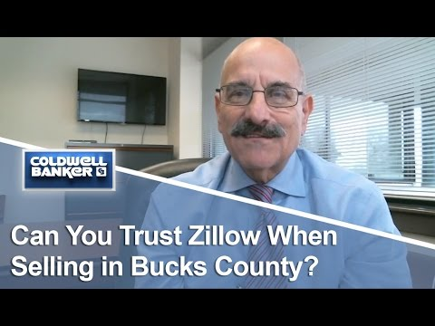 Bucks County Real Estate -  Can you trust Zillow when selling in Bucks County?