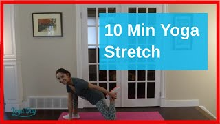 YogaDay | Stretching | 10 Min. (legs and lower body)