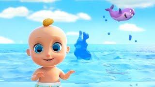 ¡Bebé Tiburón y Más Canciones Infantiles! | El Reino Infantil