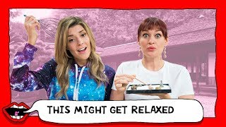 TESTING STRESS RELIEF TOYS with Grace Helbig & Mamrie Hart