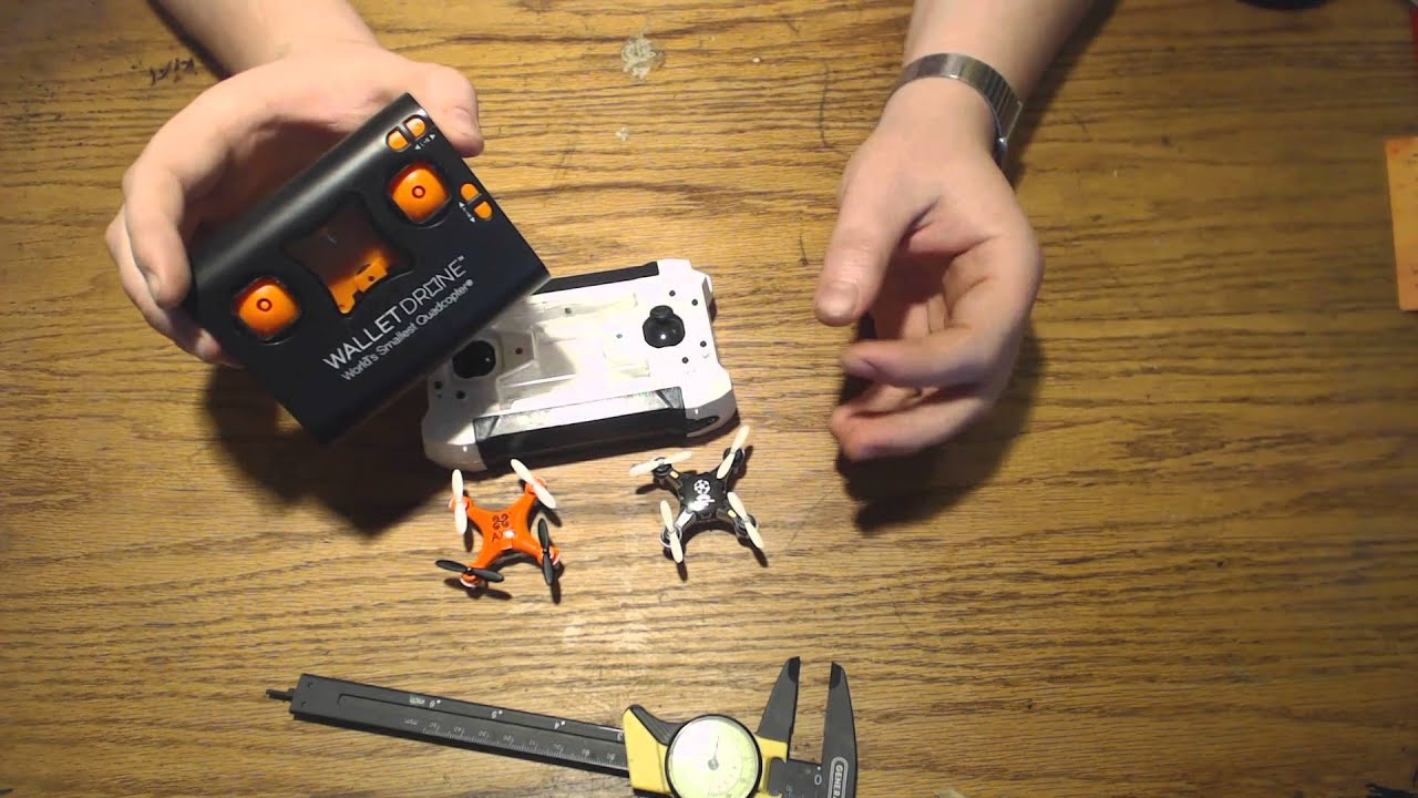 Axis Wallet Drone Fq777 124 Pocket Drone Review Youtube