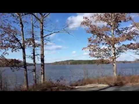Hiking at beautiful Jordan Lake, NC