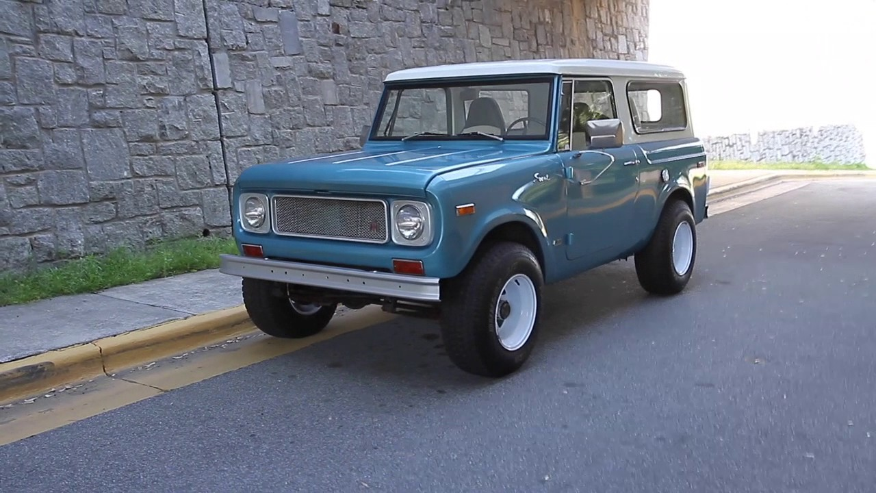 Image result for 1970 IH scout