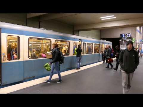 Munich (Munchen) U-Bahn Extravaganza 20 May 2015