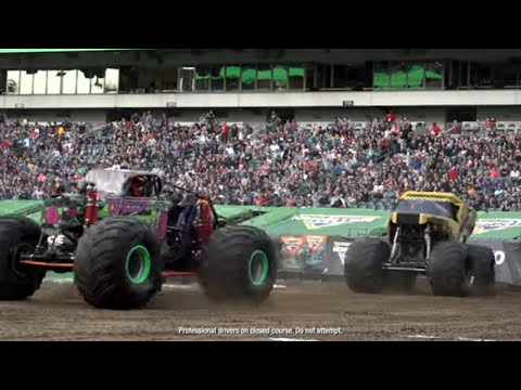 Philadelphia, PA Highlights | Monster Jam 2019 - Stadium Championship Series 2