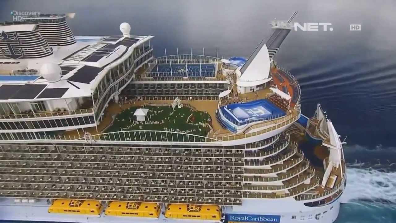 NET17 - Kapal pesiar terbesar di dunia dijuluki Kota ...