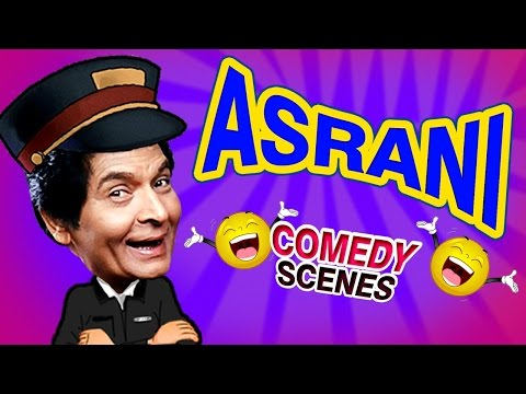Asrani Comedy Scenes {HD} - Weekend Comedy Special - Indian