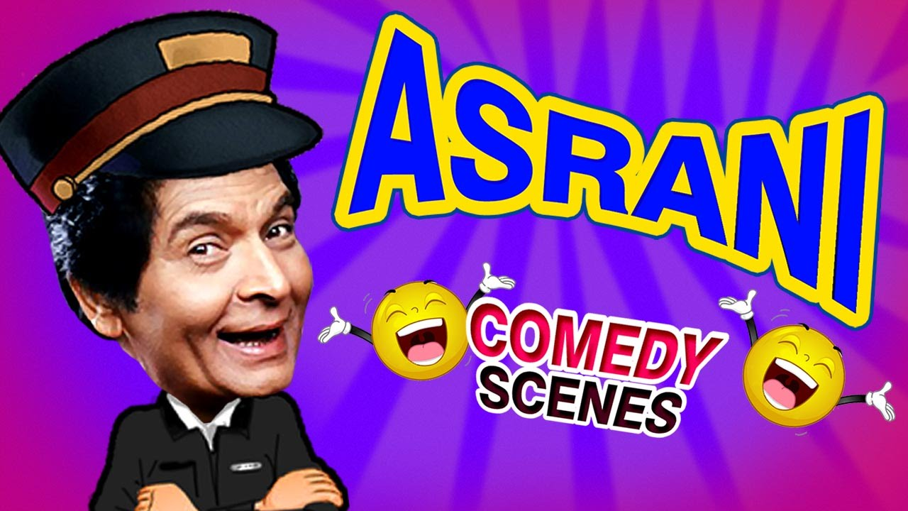 Asrani Comedy Scenes {HD} - Weekend Comedy Special - Indian Comedy