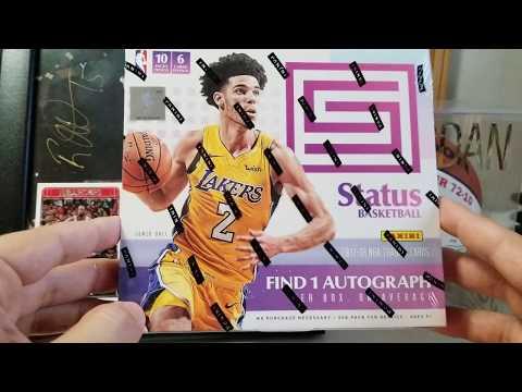 2017/18 Panini Status Basketball Hobby Box - 1 Auto!