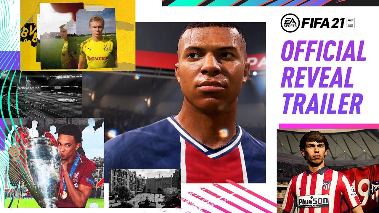 PS4 l FIFA 21 - 공식 공개 예고편 Win As One ft. Kylian Mbappé