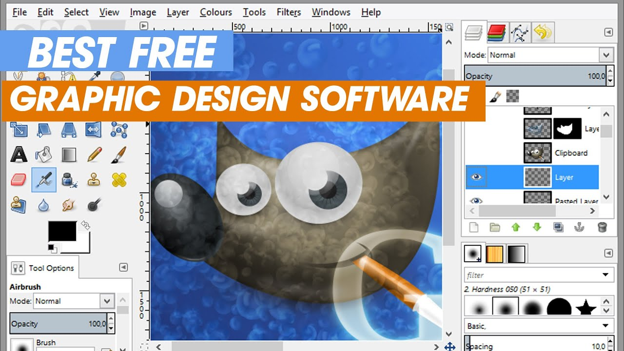 Best Free Graphic Design Software (Free Downloads) - YouTube