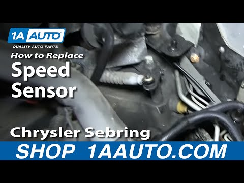 How to Replace Speed Sensor 95-10 Chrysler Sebring | 1A Auto