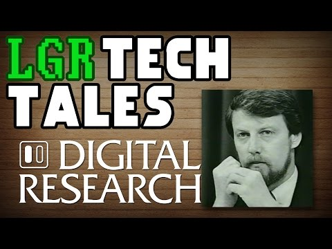 LGR Tech Tales - How Digital Research Almost Ruled PCs