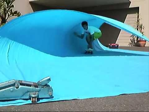 backyard surf and skate youtube