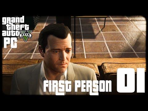 GTA V PC First Person 1080p60 w/Facecam WT #1 - تختيم حرامي السيارات الخامس -منظور أول