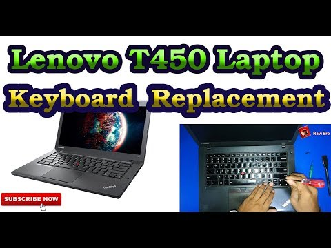 Lenovo T450 Keyboard Replacement
