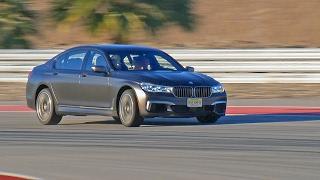 BMW M760Li (2017) Test Drive on Racetrack