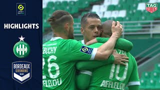 AS SAINT-ÉTIENNE - FC GIRONDINS DE BORDEAUX (4 - 1) - Highlights - (ASSE - GdB) / 2020/2021
