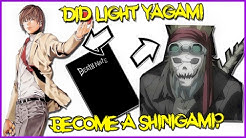 Light Yagami Became  A Shinigami? - Death Note Theory