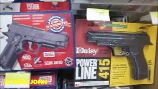 BB & PELLET HANDGUN PRICES - Alaska Walmart - November 30th 2015