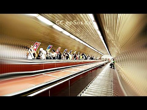 Longest Escalator is Deep in Prague Metro System.