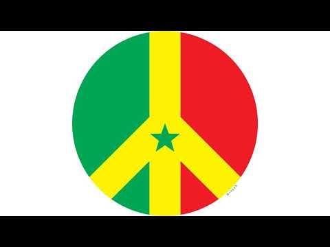 Fun with peace flags : Senegal (Official ) Pincez tous vos koras, frappez les balafons
