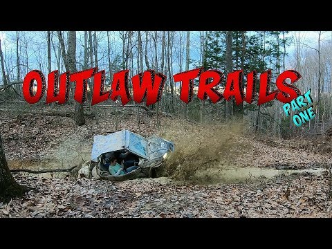Outlaw Trails Ride Part One, X3 & RZR