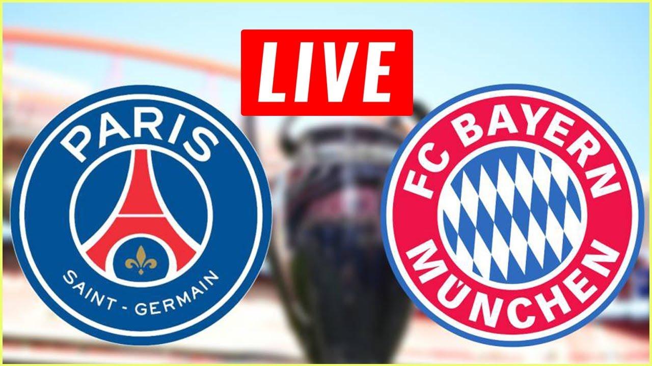 Paris Saint-Germain vs Bayern Munich Live Streams UEFA Champions League