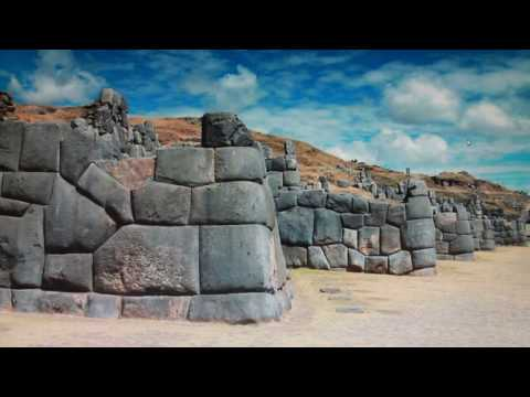 How were the POLYGONAL MEGALITHIC INCA WALLS BUILT? LIKE THI