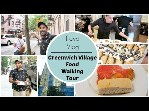 Travel Vlog | NYC Greenwich Village Food Walking Tour
