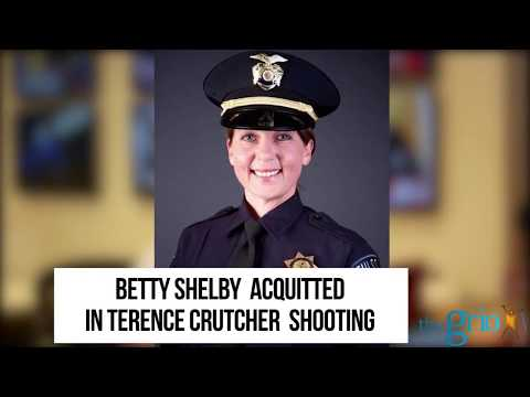 Betty Shelby Found Not Guilty in Terence Crutcher Shooting Death