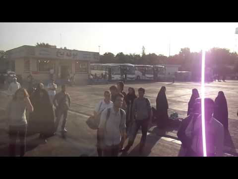 Bus from Tehran to Mashhad, Iran   part 1
