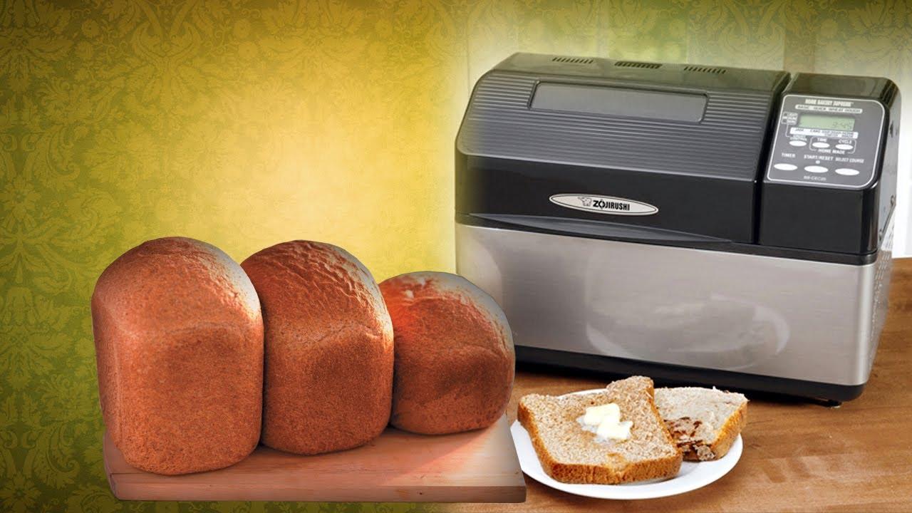 Zojirushi Home Bakery Supreme 2 lb Loaf Breadmaker BB CEC20 Black Stainless