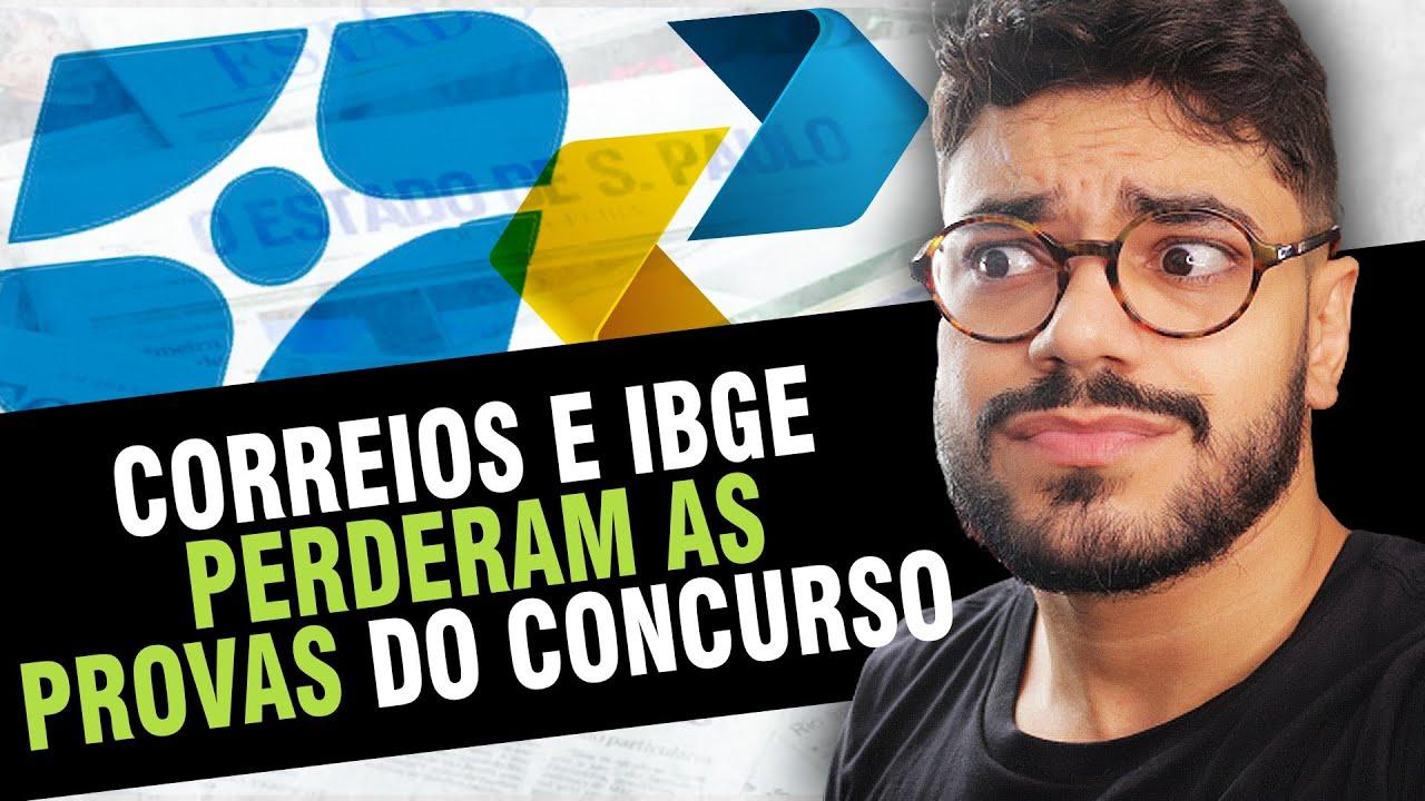 As Provas Do IBGE Foram Extraviadas, Nível Superior No INSS e Suspensão do TAF da PRF