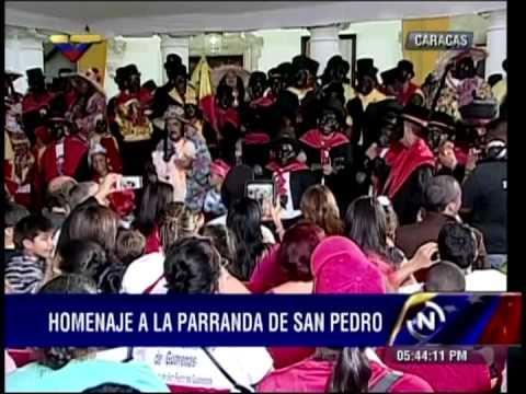 Las Parrandas de San Pedro el pasado sábado en la Casa Amarilla (completo)