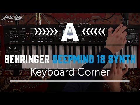 Behringer DeepMind 12 Synthesiser - Andertons Music Co