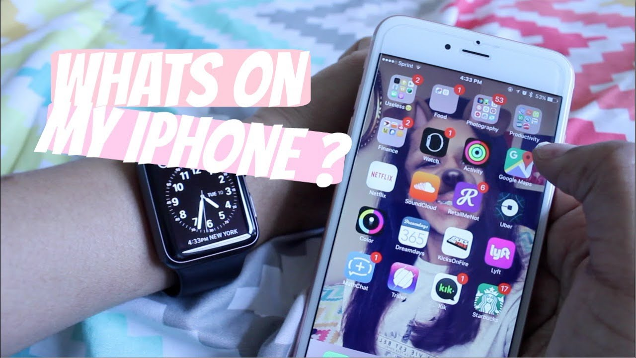 what on my iphone whats on my iphone 6s plus 7263