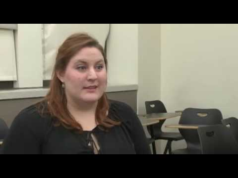 College graduate battles student loan debt