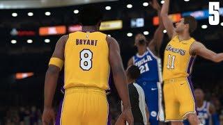 NBA 2K18 Kobe Bryant MyCareer #5   Kobe Bryants First NBA Start  
