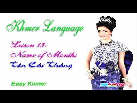 Giáo trình Đàm thoại Việt Khmer bài 13