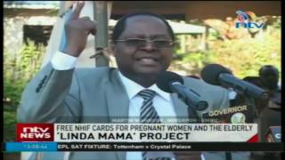 'Linda mama' project: Free NHIF cards to pregnant woman and elderly