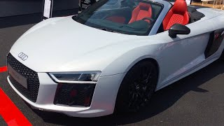 Audi R8 V10 Spyder : Review In Detail