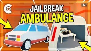🔴 JAILBREAK AMBULANCE COMING SOON! 2 BIL VISITS! | #RoadTo10K | ROBLOX LIVESTREAM 🔴