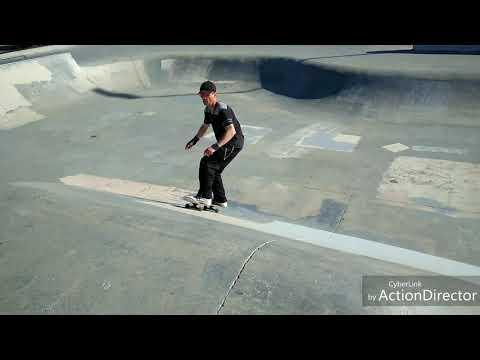 Veterans Skate Park on A Sunday Afternoon
