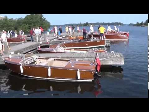 Vintage Boat Show, Antique and Classic Boat Society, Gravenhurst; 2015